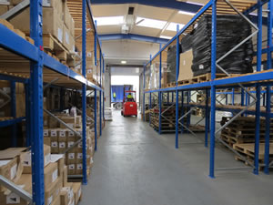 Southampton, Portsmouth, Bournemouth warehouse, pallet storage and distribution services